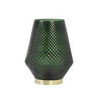 Light & Living Tafellampje 'Tovi' LED op batterijen, kleur donkergroen