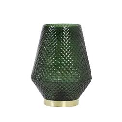 Light & Living Tafellamp 'Tovi' LED, glas donker groen