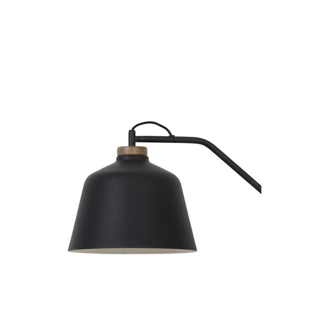 Light & Living Vloerlamp 'Banu', hout zwart