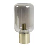 Light & Living Tafellamp 'Arturan' 22cm, kleur Smoked/Brons