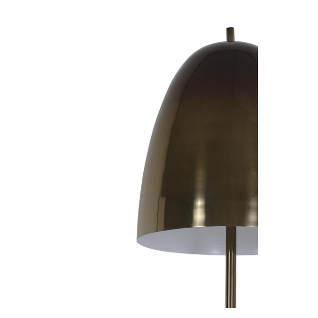 Light & Living Vloerlamp 'Lucinda', donker bruin