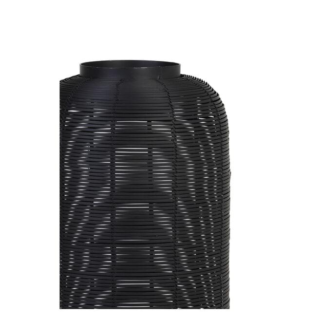 Light & Living Tafellamp 'Tomek' kleur zwart