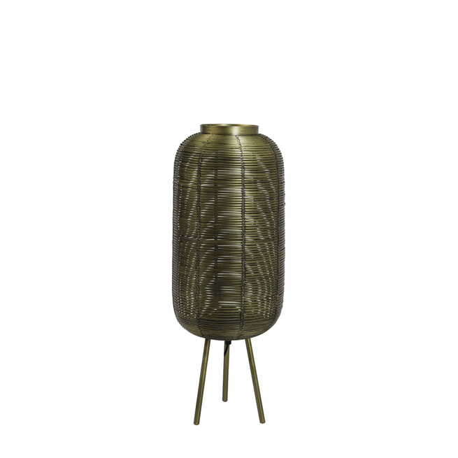 Light & Living Tafellamp 'Tomek' kleur Brons