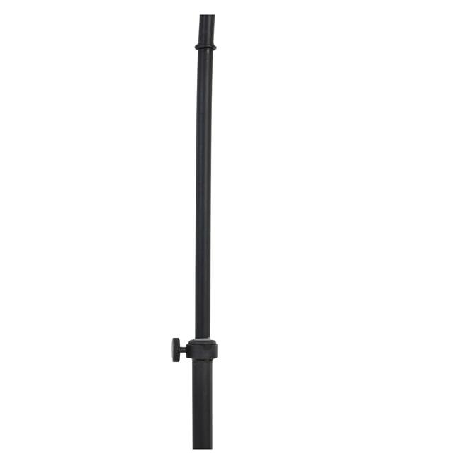 Light & Living Vloerlamp 'Imbert', donker bruin-mat zwart