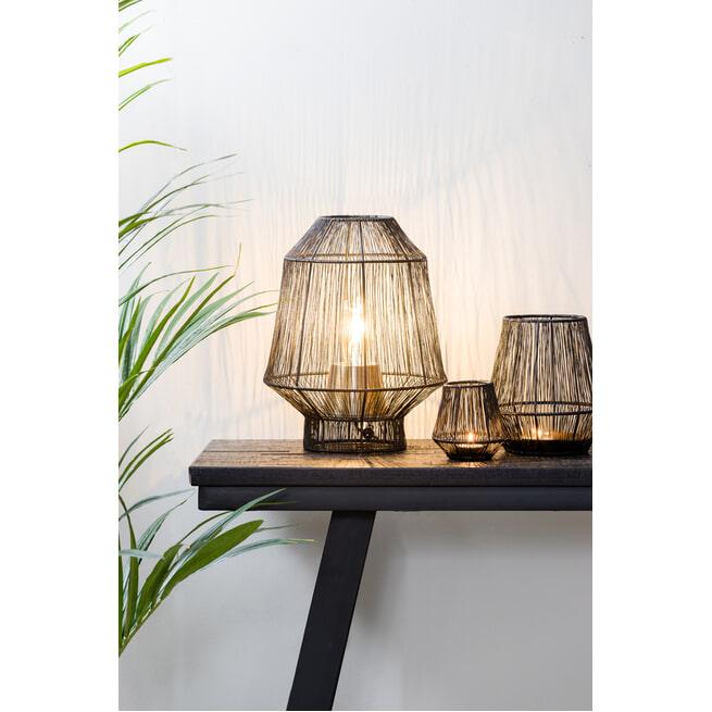 Light & Living Tafellamp 'Vitora', antiek brons
