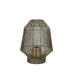Light & Living Tafellamp 'Vitora' kleur Antiek Brons