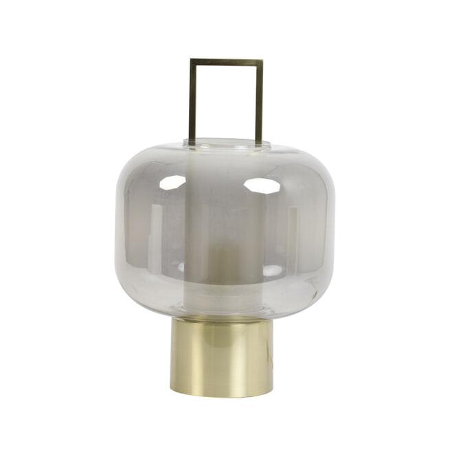 Light & Living Tafellamp 'Arturos' kleur smoked / brons