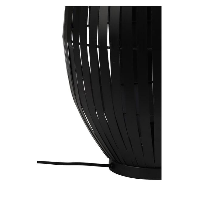 Light & Living Tafellamp 'Kyomi', mat zwart