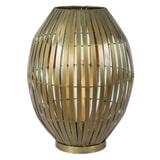Light & Living Tafellamp 'Kyomi' 55cm, antiek brons