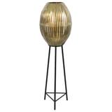 Light & Living Vloerlamp 'Kyomi' kleur Antiek Brons