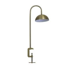 vtwonen Tafellamp 'Jupiter' met klem LED, antiek brons