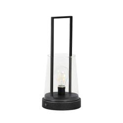 Light & Living Tafellamp 'Calry' LED, mat zwart