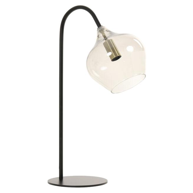 Light & Living Tafellamp 'Rakel' kleur Mat Zwart