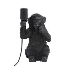 Light & Living Tafellamp 'Monkey', zwart