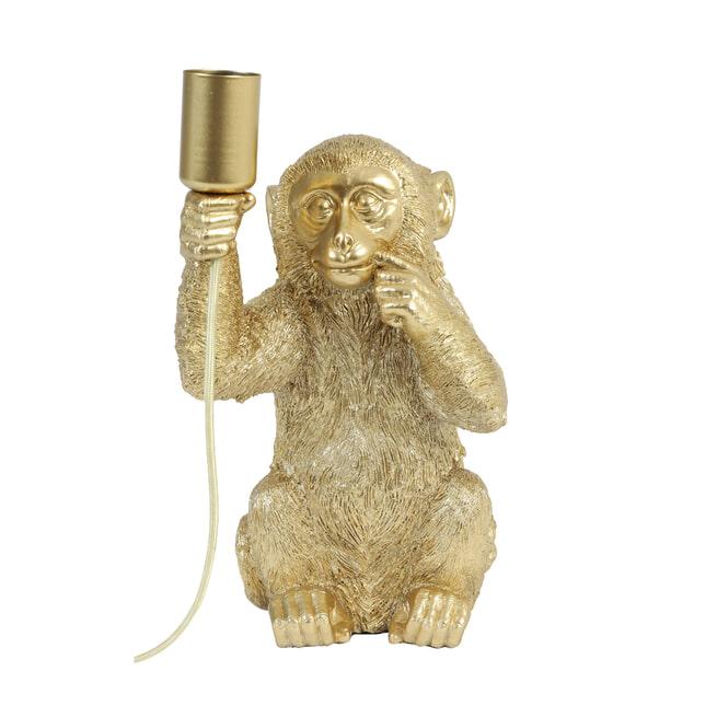 Light & Living Tafellamp 'Monkey', goud