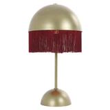 Light & Living Tafellamp 'Oiva' 52cm, bordeaux