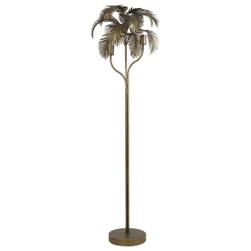 Light & Living Vloerlamp 'Palm' 2-lamps, kleur Antiek Brons