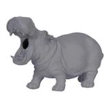 Light & Living Tafellamp 'Hippo' 17.5cm, kleur Mat Grijs