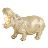 Light & Living Tafellamp 'Hippo' 17.5cm, kleur Mat Goud