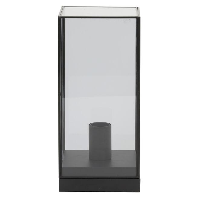 Light & Living Tafellamp 'Askjer' 32.5cm, kleur Mat Zwart