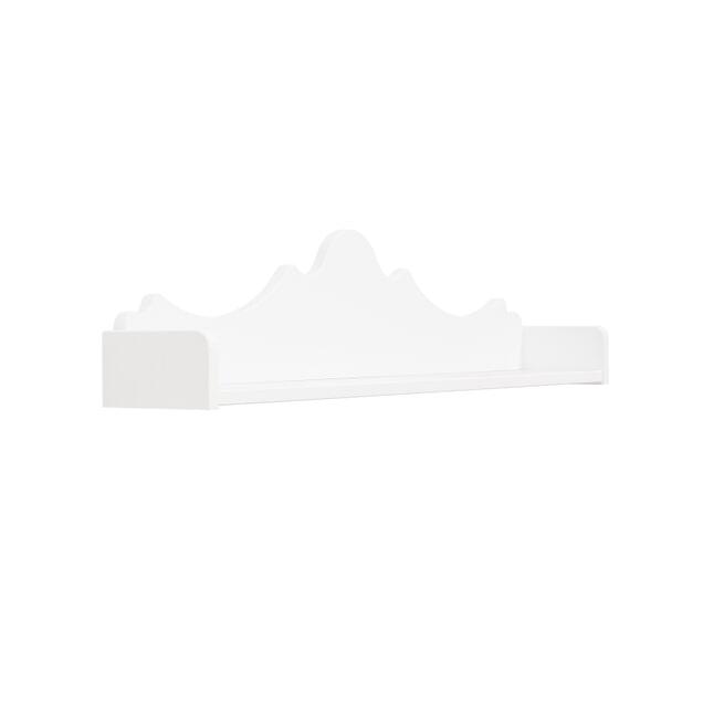 Bopita Wandplank 'Belle' 98cm, kleur wit