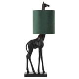 Light & Living Tafellamp 'Giraffe' 68cm, kleur Donkergroen