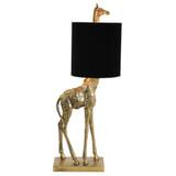 Light & Living Tafellamp 'Giraffe' 68cm, kleur Zwart