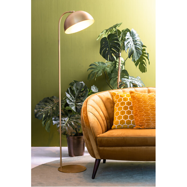 Light & Living Vloerlamp 'Mette' kleur Goud