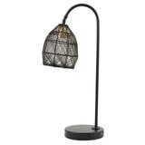 Light & Living Tafellamp 'Meya' kleur Mat Zwart