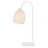 Light & Living Tafellamp 'Meya' kleur Mat Wit