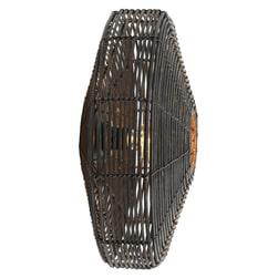 Light & Living Wandlamp 'Mataka' 51cm, rotan donker bruin