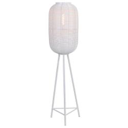 Light & Living Vloerlamp 'Tomek' 136cm, kleur Mat Wit