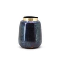 By-Boo Vaas 'The Nile Vase 2', kleur Blauw
