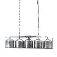 By-Boo Hanglamp 'Minack' 5-lamps, metaal, kleur Metaal