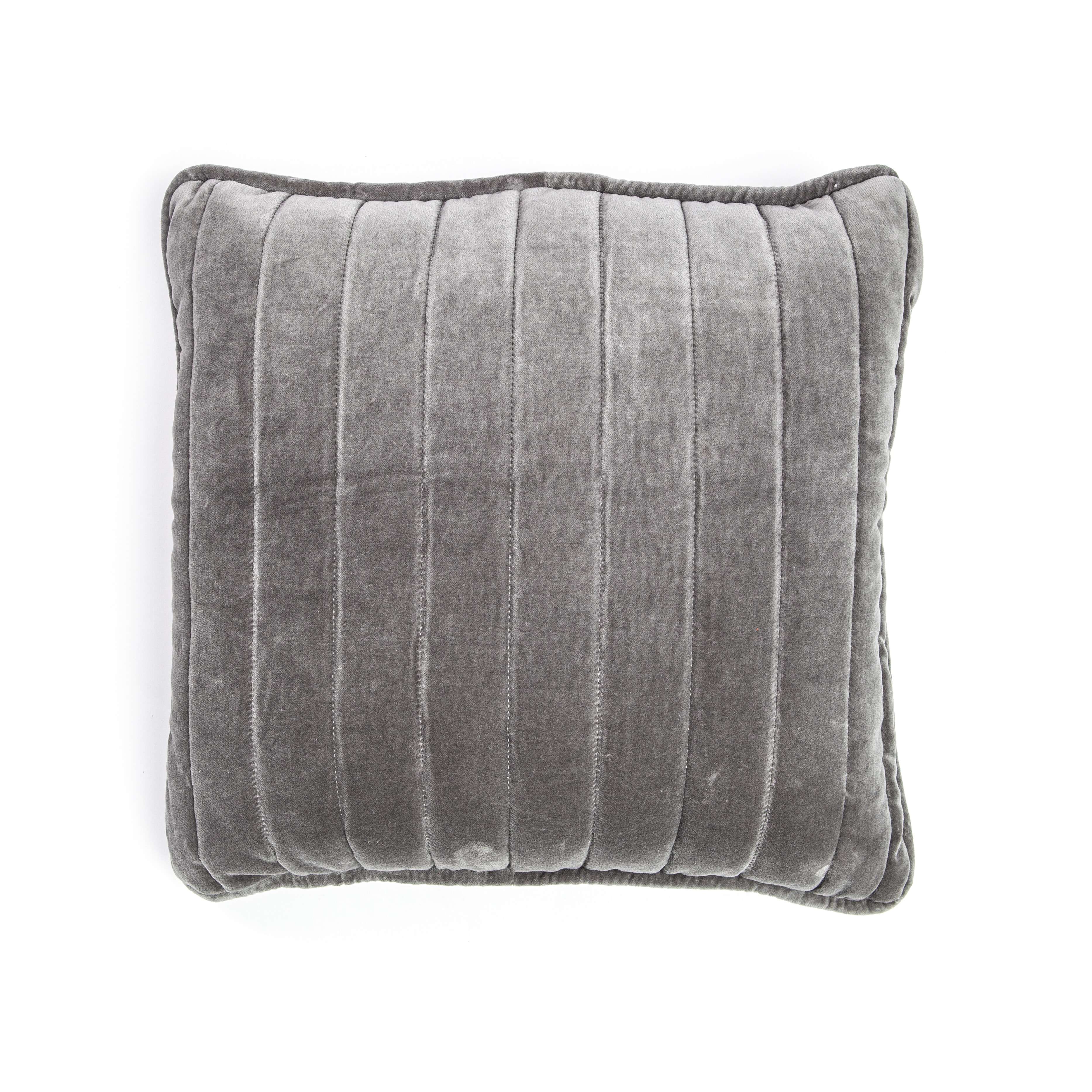 By-Boo Kussen 'Lucy' 45 x 45cm, kleur zilver