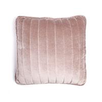 By-Boo Kussen 'Lucy' 45 x 45cm, kleur roze