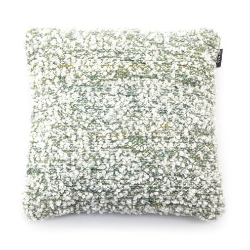 By-Boo Kussen 'Shaggy' 45 x 45cm,kleur Groen