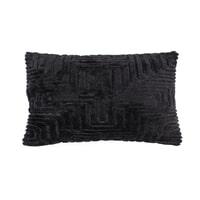 By-Boo Kussen 'Madam' 35 x 55cm, kleur Zwart