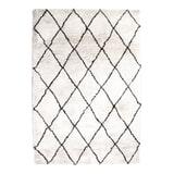 By-Boo Vloerkleed 'Rox' kleur wit, 160 x 230cm