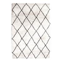 By-Boo Vloerkleed 'Rox' kleur wit, 200 x 300cm