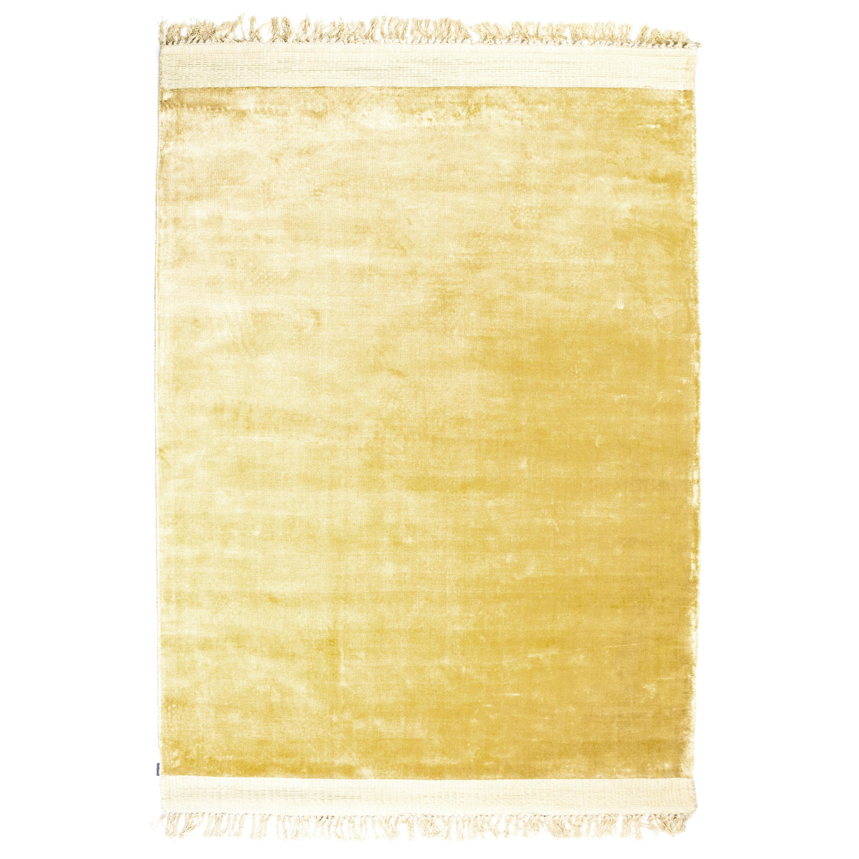 By-Boo Vloerkleed 'Peshi' kleur geel