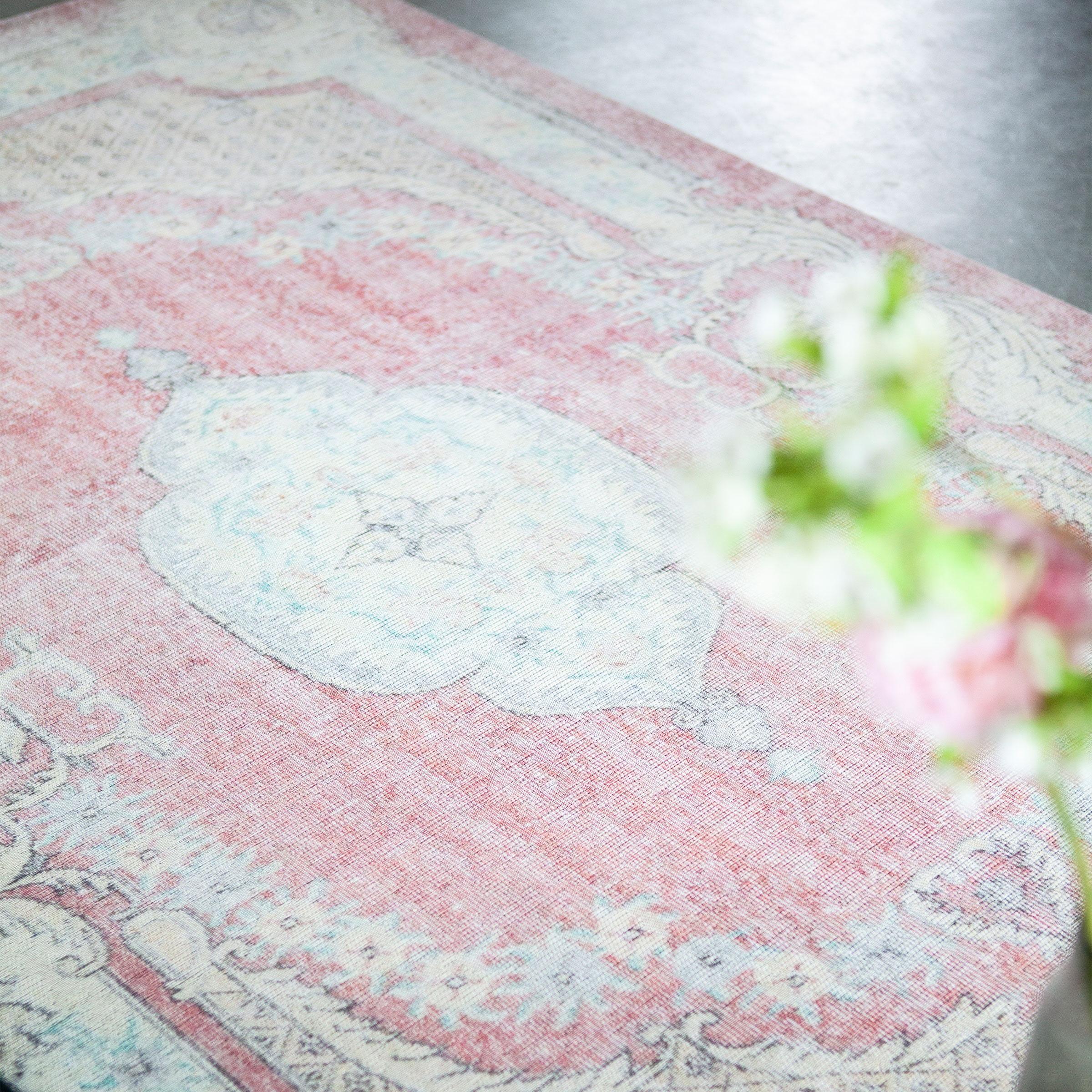 By-Boo Vloerkleed 'Mila' 160 x 230cm, kleur rood