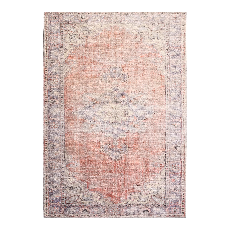 By-Boo Vloerkleed 'Blush' 200 x 290 cm, kleur rood