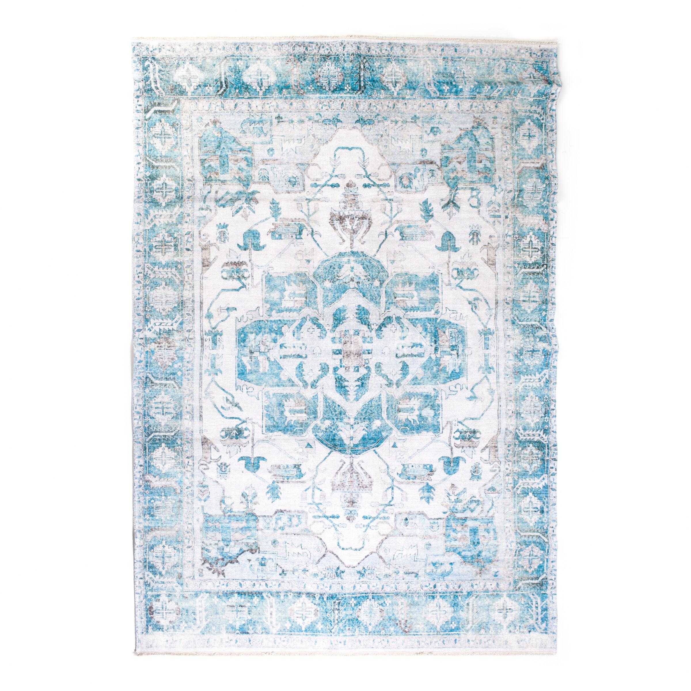By-Boo Vloerkleed 'Alix' 200 x 290cm, kleur Blauw