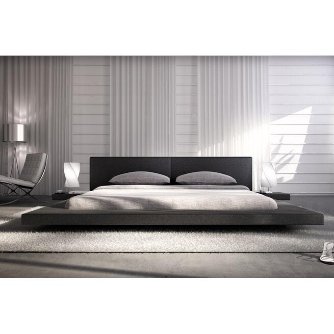 Artistiq Bed 'Renee', 272 x 244 x 72cm, kleur Zwart