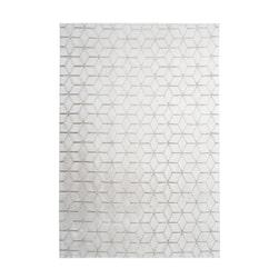 Kayoom Vloerkleed 'Vivica 125' kleur Wit / Taupe, 120 x 160cm