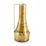 By-Boo Vaas 'Walker' kleur Goud, 30cm hoog