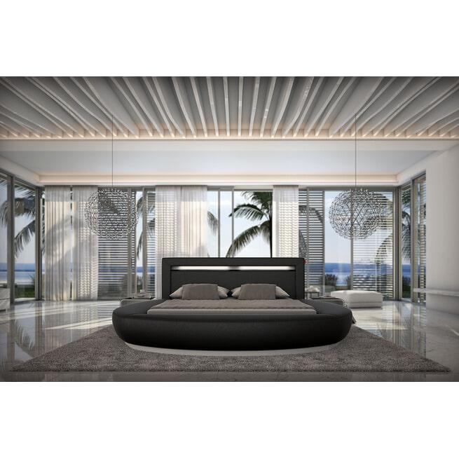 Artistiq Bed 'Phillip' 140 x 200cm, kleur Zwart