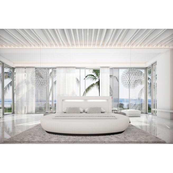 Artistiq Bed 'Genevive' 200 x 200cm, kleur Wit