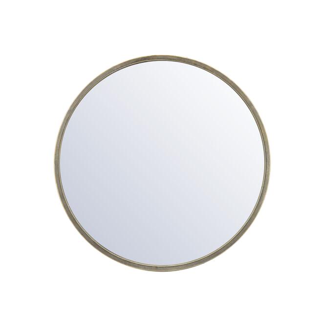 By-Boo Ronde Spiegel 'Selfie' kleur goud